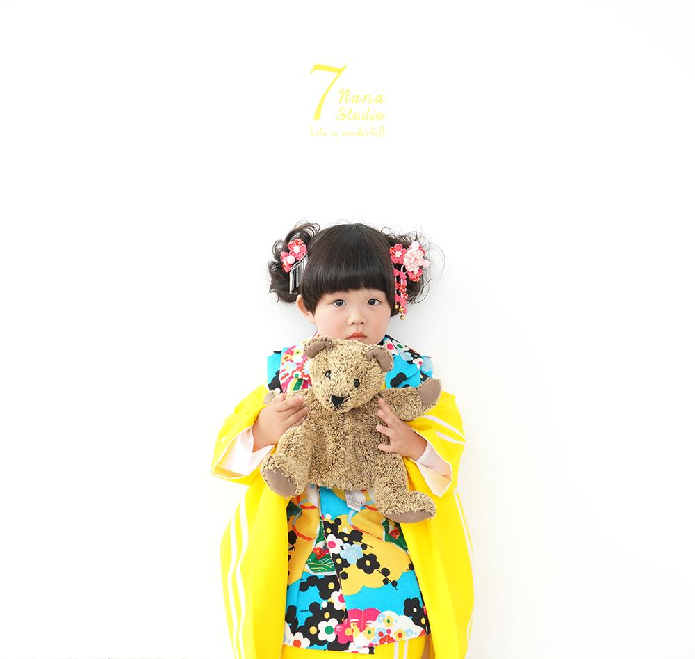 753Photograph 3歳女の子