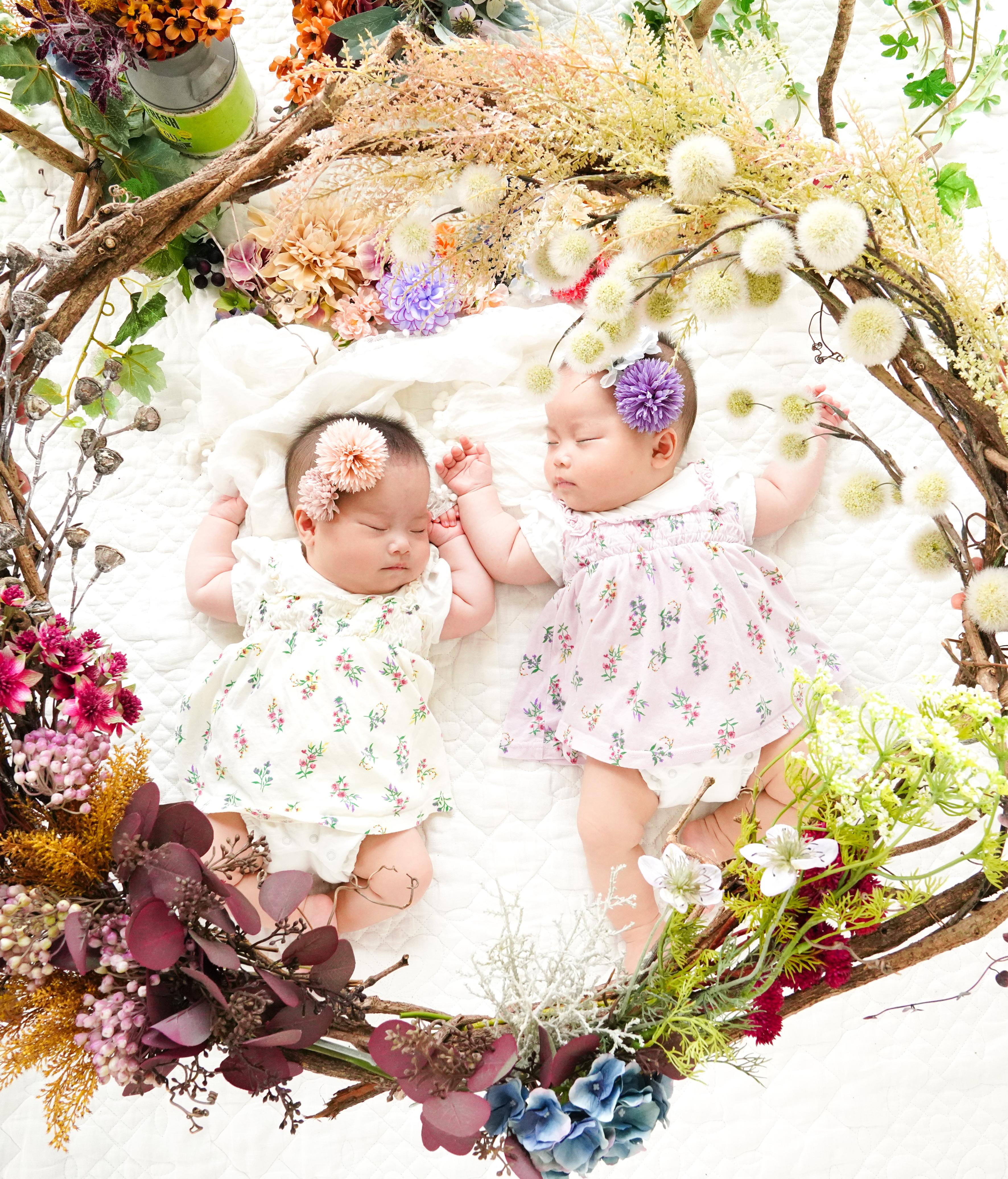 Baby Half Birthday 「双子ちゃんと」