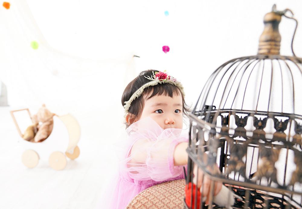 1歳バースデーフォト 京都ナナスタジオ