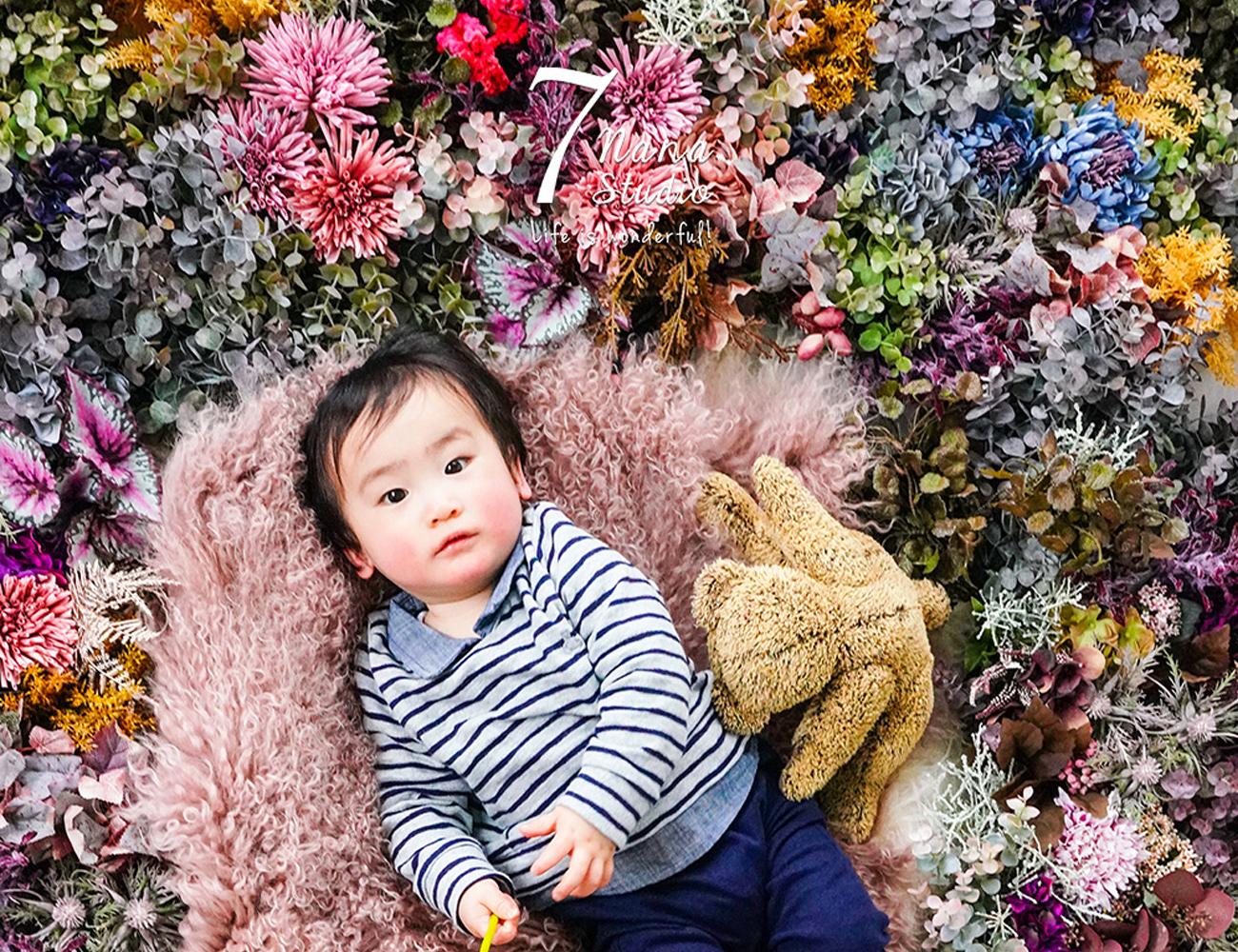 1歳バースデー 長岡京市ナナスタジオ