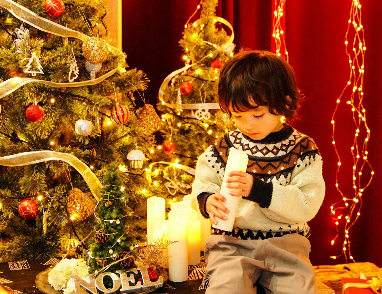 クリスマスフォト 撮影会より